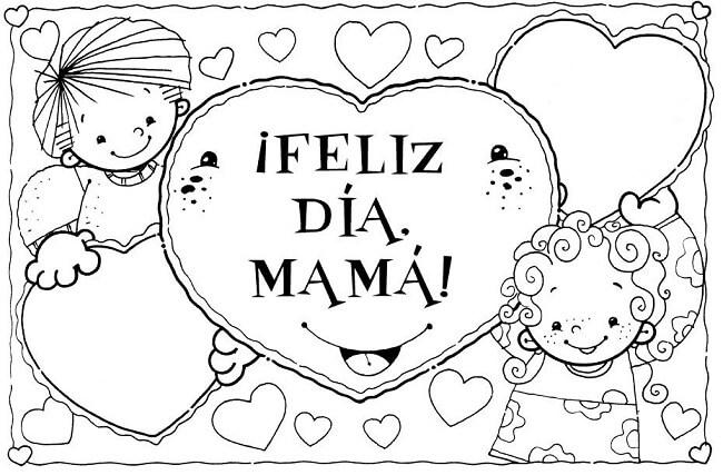 dibujos del dia de la madre